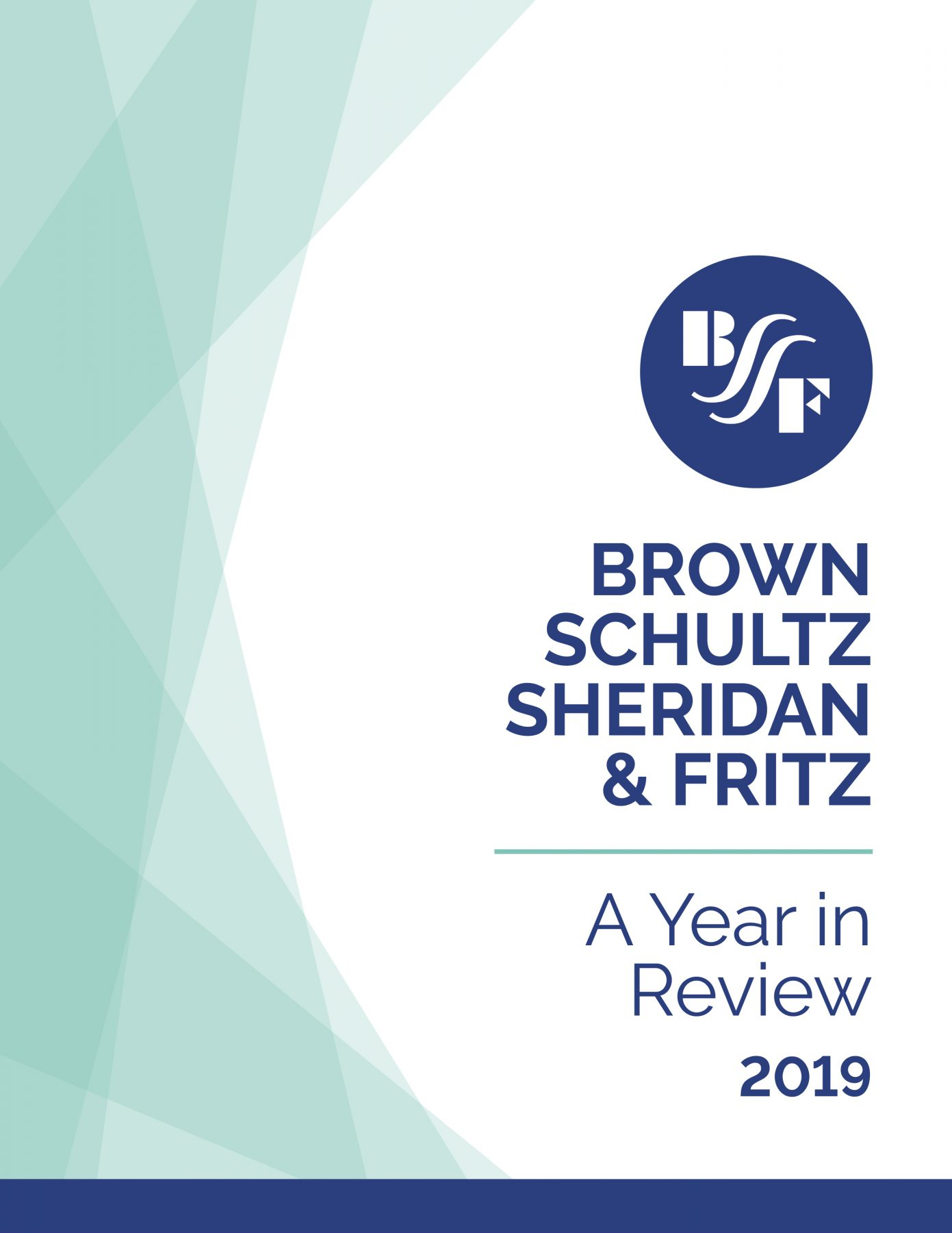 BSSF Year in Review: 2019 Cover